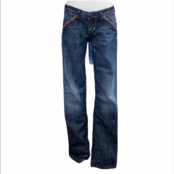 Guess Premium Dark Wash Bootcut Jeans